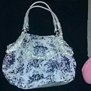 ELLE purple floral bag